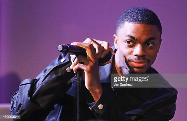 Musician Vince Staples attends the Apple Store Soho Presents Meet The Musician at the Apple Store Soho on June 30 2015 in New York City