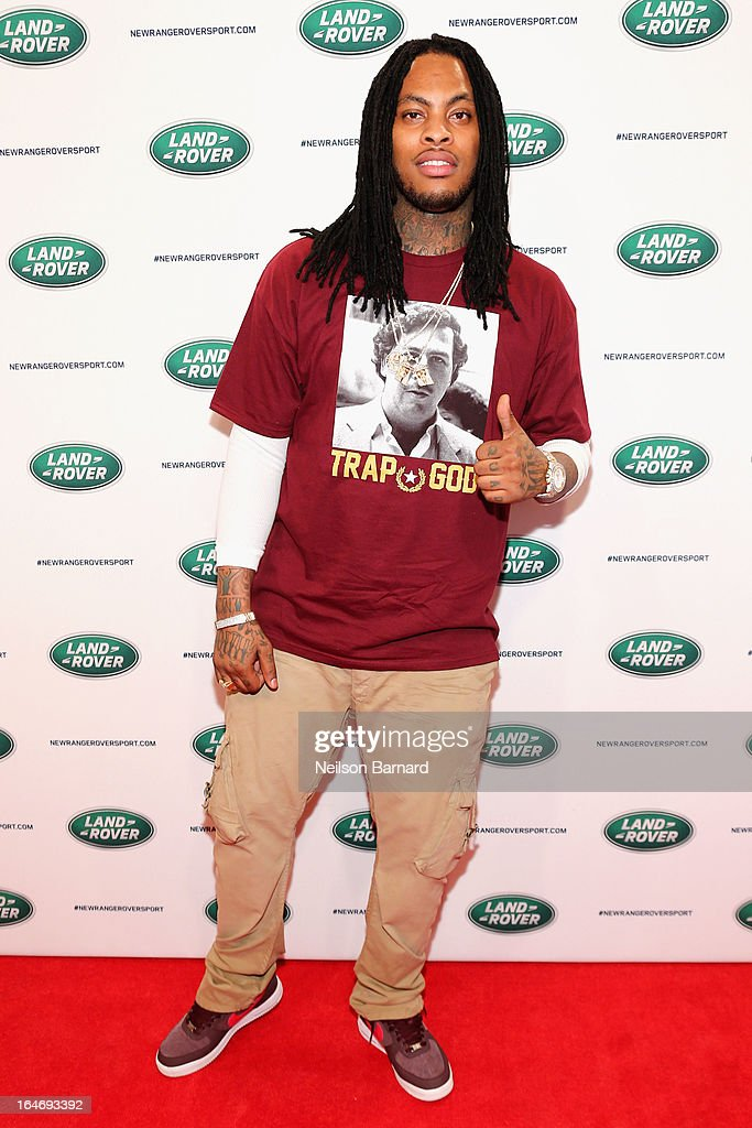 Musician Waka Flocka attends the all-new Range Rover Sport reveal on March 26, 2013 in New York City.