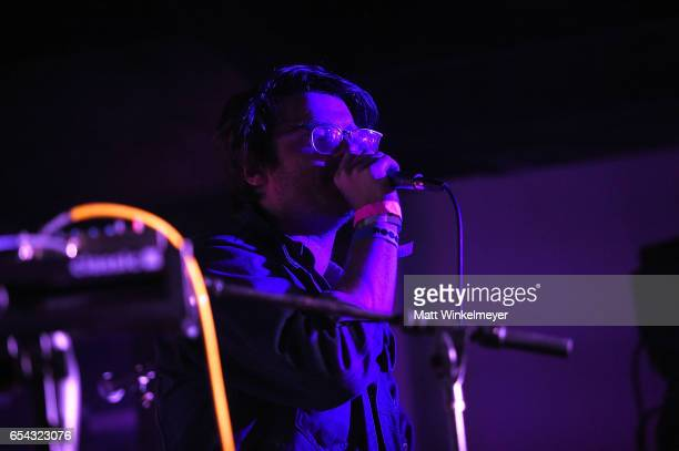 Musician Walker Lukens performs during the Spoon SXSW Residency 2017 SXSW Conference and Festivals on March 16 2017 in Austin Texas