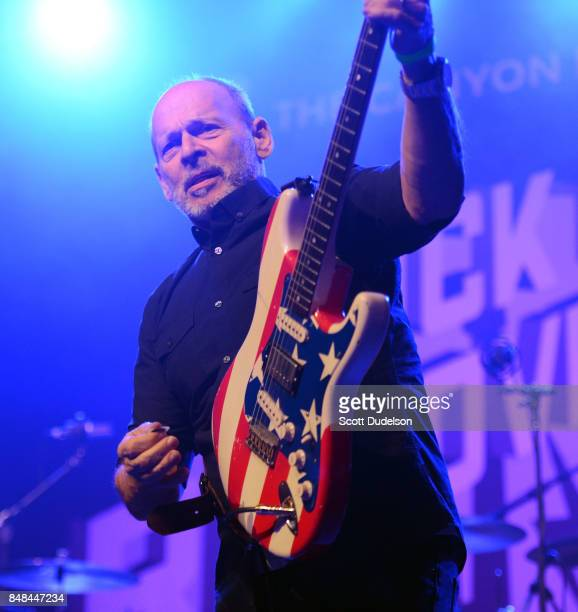 Musician Wayne Kramer of MC5 performs onstage during the second annual Rock for Recovery benefit concert at The Fonda Theatre on September 16 2017 in...