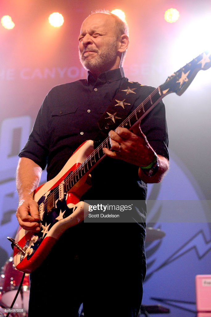 Musician Wayne Kramer of MC5 performs onstage during the second annual Rock for Recovery benefit concert at The Fonda Theatre on September 16, 2017 in Los Angeles, California.