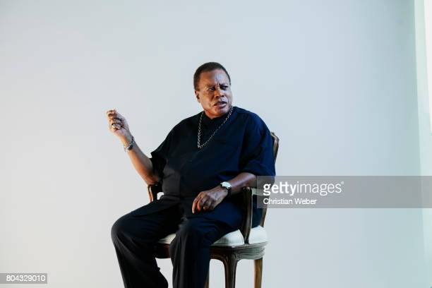 Musician Wayne Shorter photographed for GQ Conde Nast on September 15 in New York City