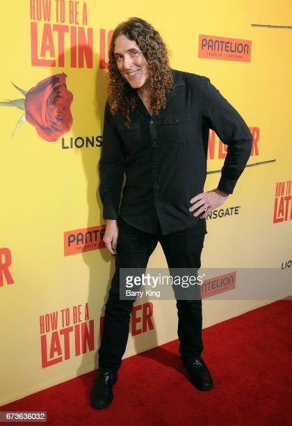 musician weird al yankovic attends premiere of pantelion films how to be a latin