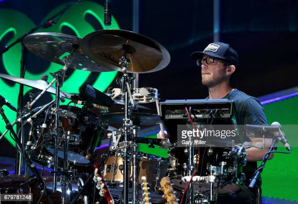 Musician Whit Sellers of Old Dominion performs onstage during the 2017 iHeartCountry Festival A Music Experience by ATT at The Frank Erwin Center on...