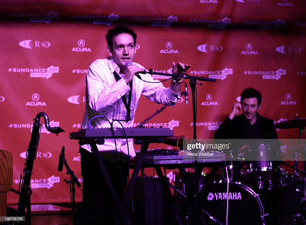 Musician Will Bates performs at the Music Cafe And