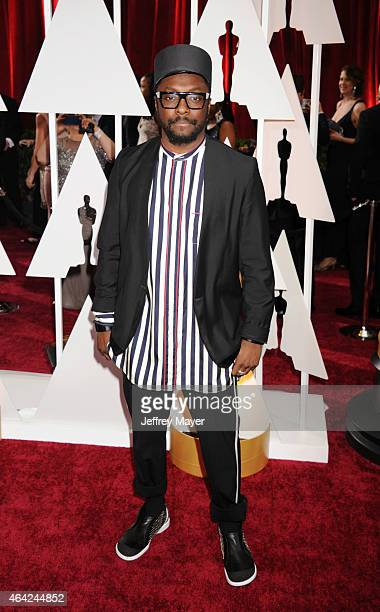 Musician William arrives at the 87th Annual Academy Awards at Hollywood Highland Center on February 22 2015 in Hollywood California
