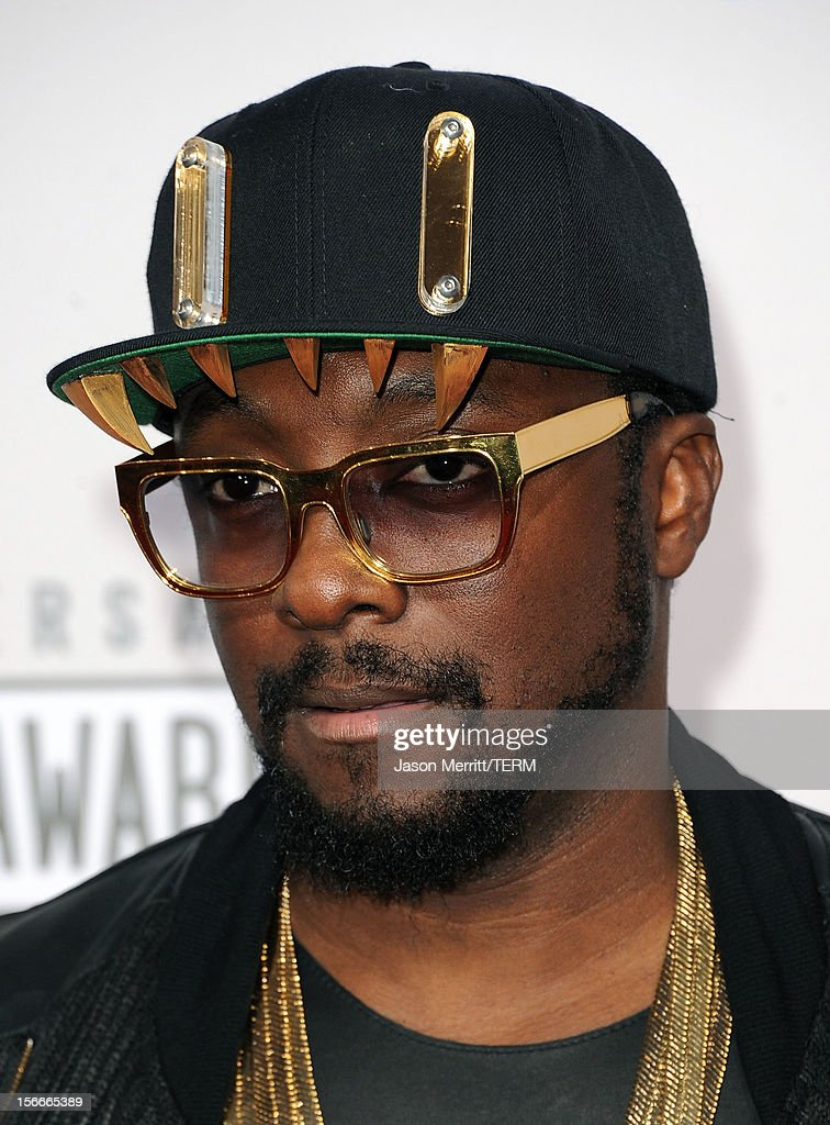 Musician will.i.am attends the 40th American Music Awards held at Nokia Theatre L.A. Live on November 18, 2012 in Los Angeles, California.