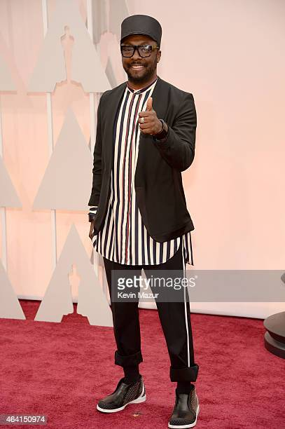 Musician william attends the 87th Annual Academy Awards at Hollywood Highland Center on February 22 2015 in Hollywood California