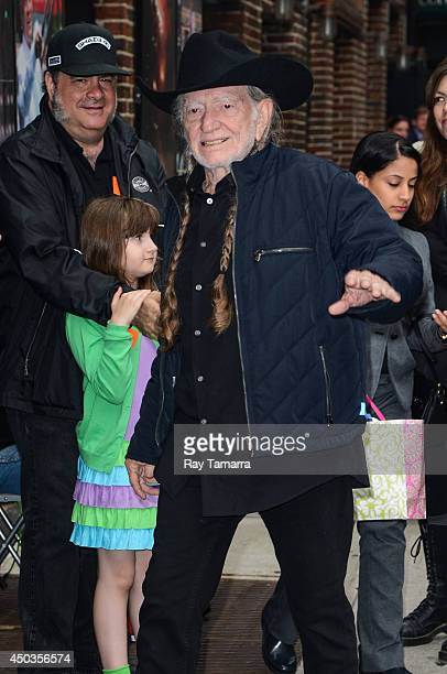 Musician Willie Nelson enters the 'Late Show With David Letterman' taping at the Ed Sullivan Theater on June 9 2014 in New York City