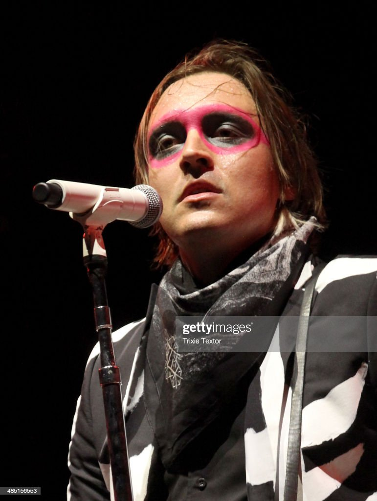 Musician <a gi-track='captionPersonalityLinkClicked' href=/galleries/search?phrase=Win+Butler&family=editorial&specificpeople=2220917 ng-click='$event.stopPropagation()'>Win Butler</a> of Arcade Fire performs onstage during day 3 of the 2014 Coachella Valley Music & Arts Festival at the Empire Polo Club on April 13, 2014 in Indio, California.