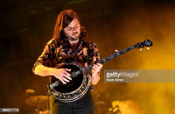 Musician Winston Marshall of the band Mumford Sons performs at the Hangout Stage during 2017 Hangout Music Festival on May 21 2017 in Gulf Shores...