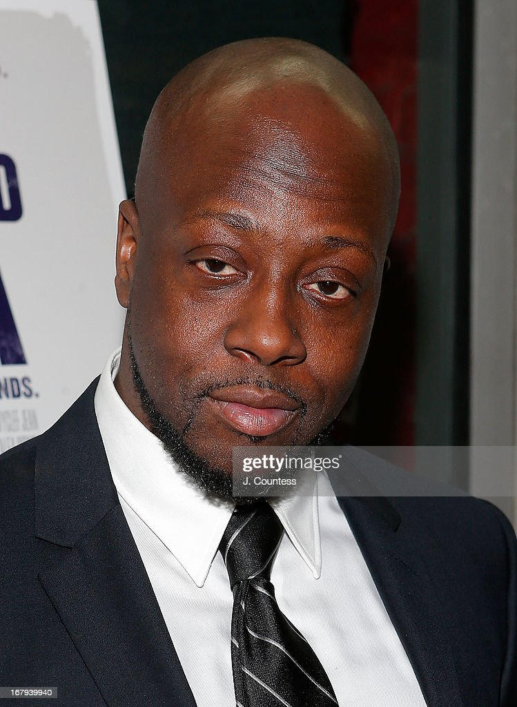 Musician <a gi-track='captionPersonalityLinkClicked' href=/galleries/search?phrase=Wyclef+Jean&family=editorial&specificpeople=171115 ng-click='$event.stopPropagation()'>Wyclef Jean</a> attends the New York screening of 'Venus and Serena' at IFC Center on May 2, 2013 in New York City.