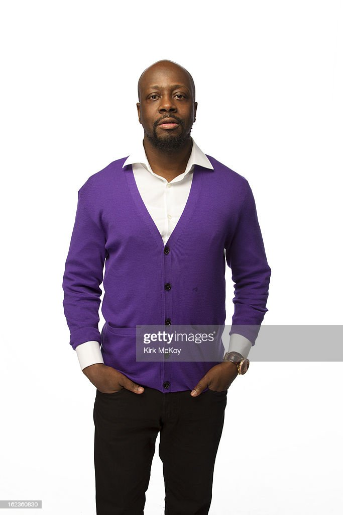 Musician Wyclef Jean is photographed at the NAACP Image Awards for Los Angeles Times on February 1, 2013 in Los Angeles, California. PUBLISHED IMAGE.