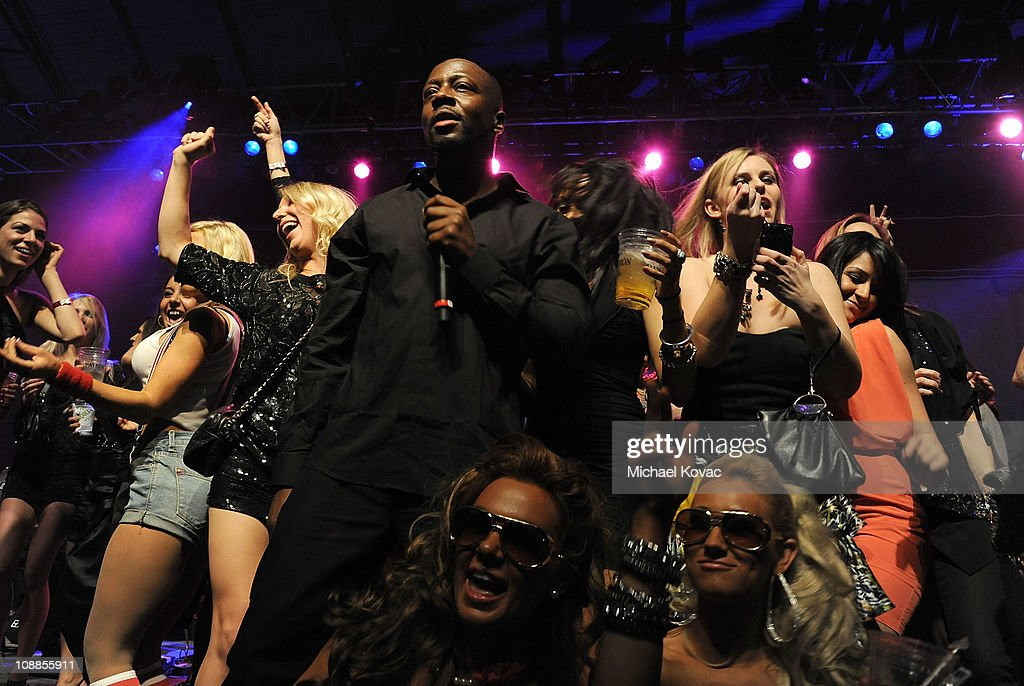 Musician <a gi-track='captionPersonalityLinkClicked' href=/galleries/search?phrase=Wyclef+Jean&family=editorial&specificpeople=171115 ng-click='$event.stopPropagation()'>Wyclef Jean</a> performs with AOL at the Maxim Party Powered by Motorola Xoom at Centennial Hall at Fair Park on February 5, 2011 in Dallas, Texas.