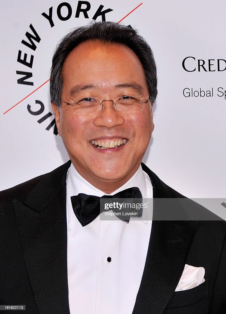Musician Yo Yo Ma attends The New York Philharmonic 172nd Season Opening Night Gala at Avery Fisher Hall, Lincoln Center on September 25, 2013 in New York City.