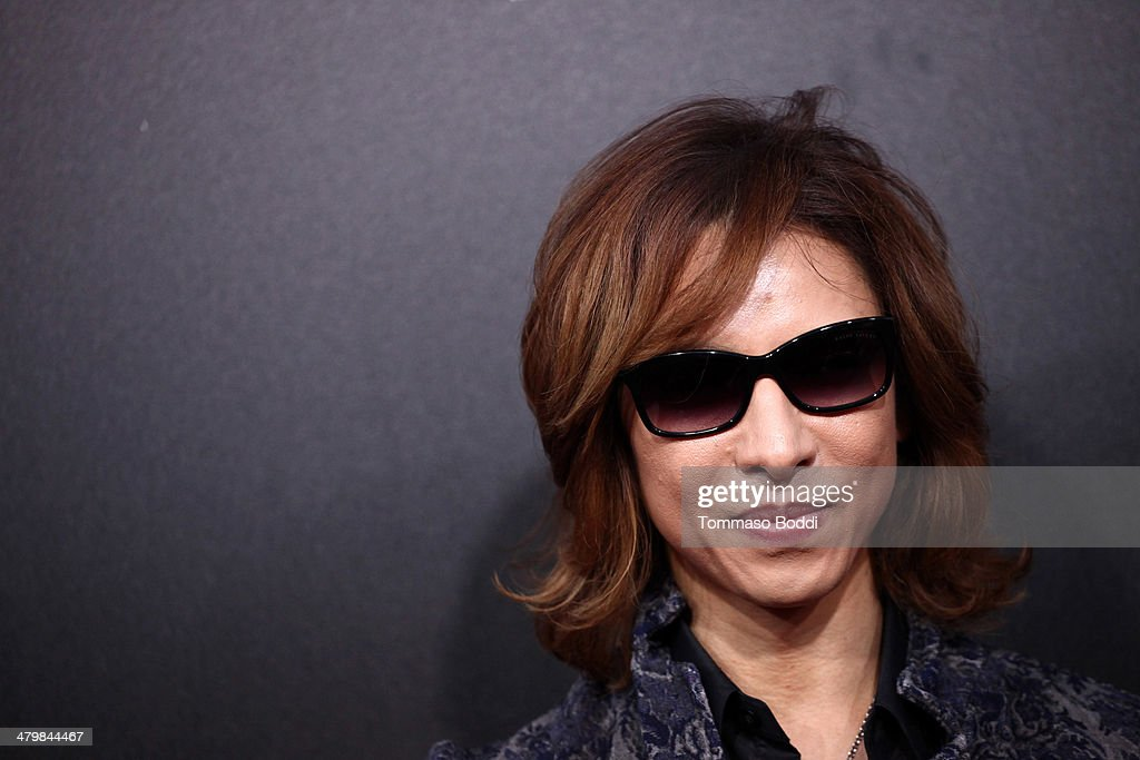 Musician Yoshiki attends the 2nd annual Rebel With a Cause Gala held at the Paramount Studios on March 20 2014 in Hollywood California
