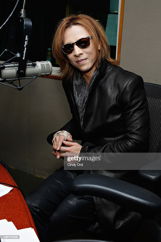 Musician Yoshiki visits the SiriusXM Studios on October 6, 2014 in New York City.