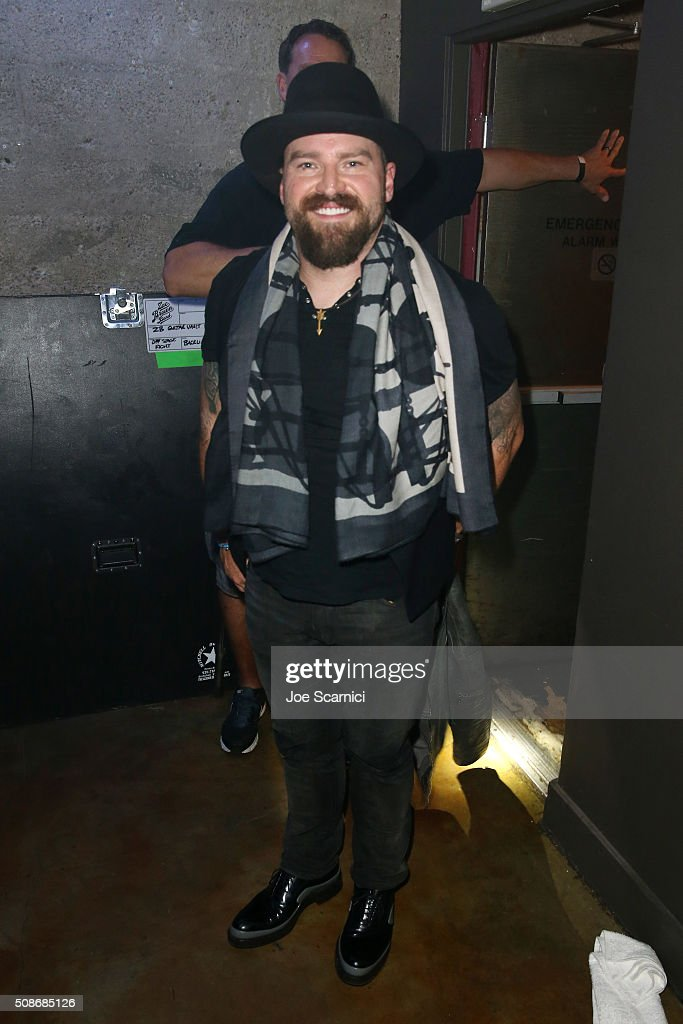 Musician Zac Brown attends Bleacher Report's 'Bleacher Ball' presented by go90 at The Mezzanine prior to Sunday's big game on February 5, 2016 in San Francisco, California.