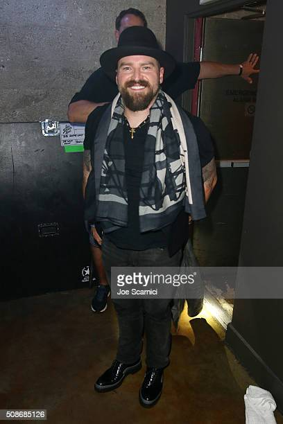 Musician Zac Brown attends Bleacher Report's 'Bleacher Ball' presented by go90 at The Mezzanine prior to Sunday's big game on February 5 2016 in San...