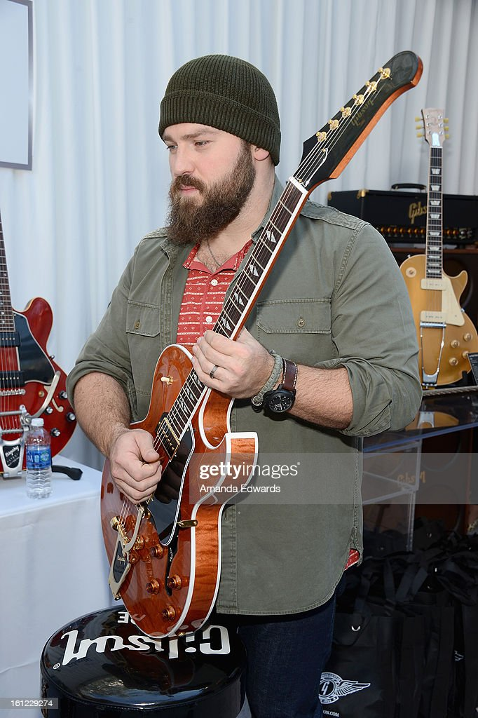 Musician Zac Brown attends the GRAMMY Gift Lounge during the 55th Annual GRAMMY Awards at STAPLES Center on February 9, 2013 in Los Angeles, California.