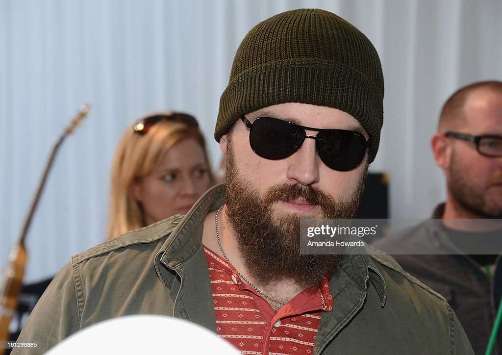 Musician Zac Brown of the Zac Brown Band attends the GRAMMY Gift Lounge during the 55th Annual GRAMMY Awards at STAPLES Center on February 9, 2013 in Los Angeles, California.