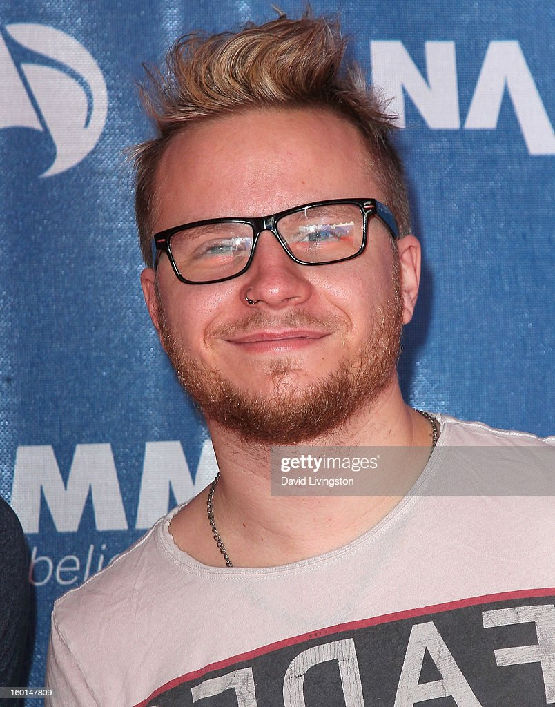 Musician Zach Myers attends the 2013 NAMM Show - Day 3 at the Anaheim Convention Center on January 26, 2013 in Anaheim, California.