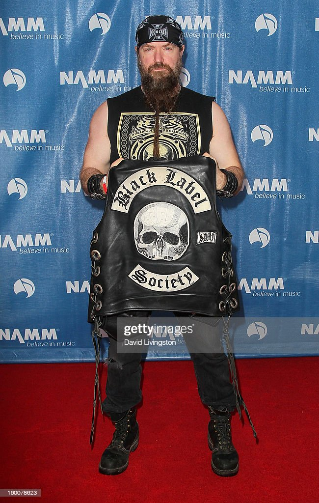 Musician Zakk Wylde attends the 2013 NAMM Show - Day 2 ate the Anaheim Convention Center on January 25, 2013 in Anaheim, California.