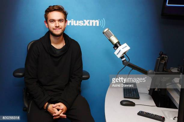 Musician Zedd visits SiriusXM Hits 1 channel at SiriusXM studios on July 21 2017 in New York City