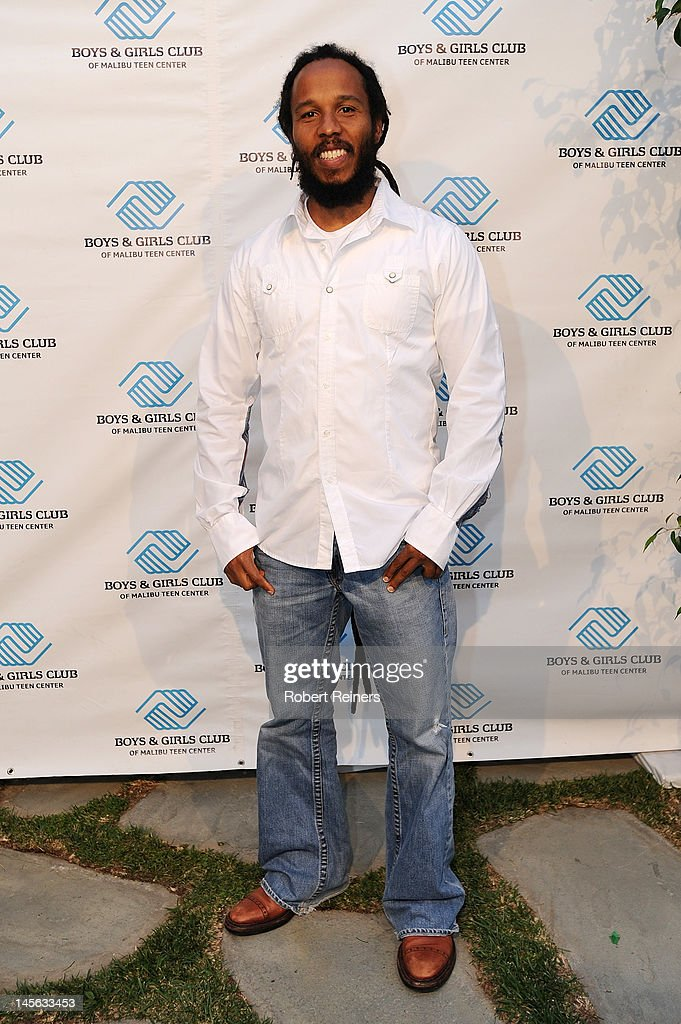 Musician Ziggy Marley arrives at the Ziggy Marley Benefit Performance for the Boys Girls Club of Malibu on June 2 2012 in Malibu California