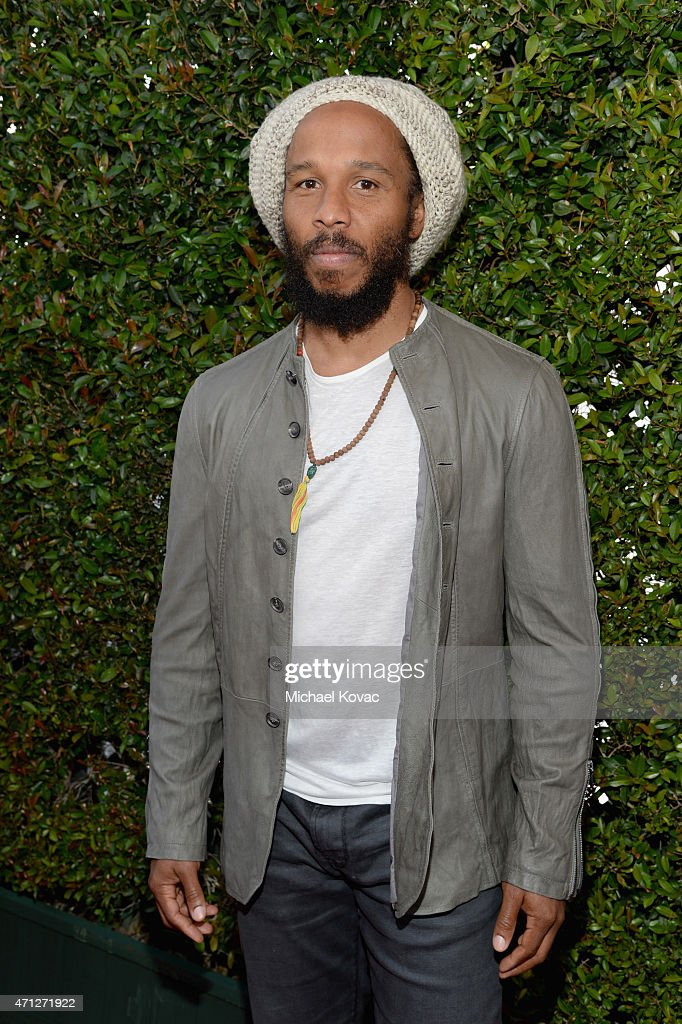 Musician Ziggy Marley attends Chrysler John Varvatos 12th Annual Stuart House Benefit at John Varvatos on April 26 2015 in Los Angeles California
