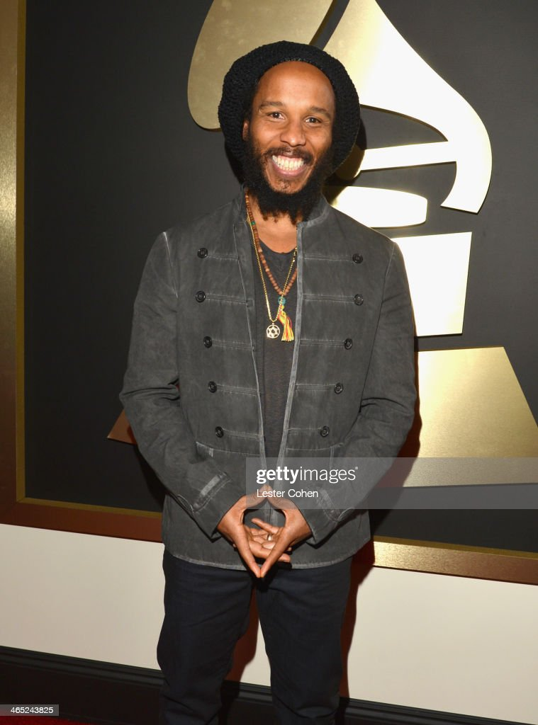 Musician Ziggy Marley attends the 56th GRAMMY Awards at Staples Center on January 26 2014 in Los Angeles California