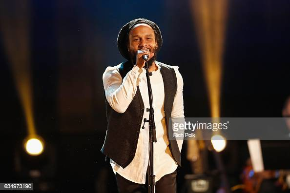 Musician Ziggy Marley performs onstage at the Premiere Ceremony during the 59th GRAMMY Awards at Microsoft Theater on February 12 2017 in Los Angeles...