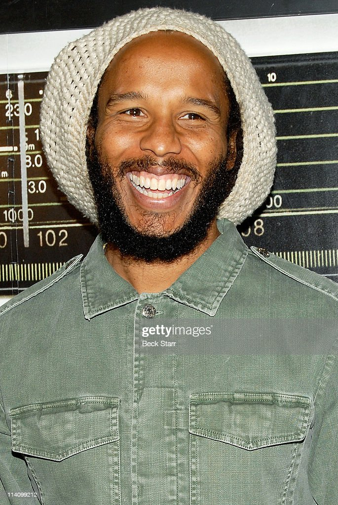 Musician Ziggy Marley son of Bob Marley attends The Grammy Museum Debut Of The New Exhibit 'Bob Marley Messanger' celebrating the life and Music of...