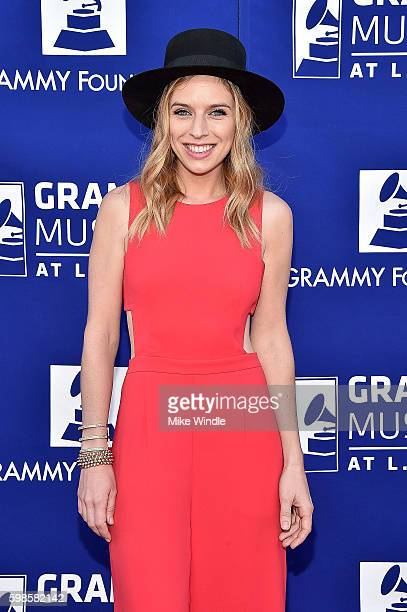 Musician ZZ Ward at Icon The Life And Legacy Of BB King a live tribute concert presented by the GRAMMY Foundation and GRAMMY Museum and sponsored in...