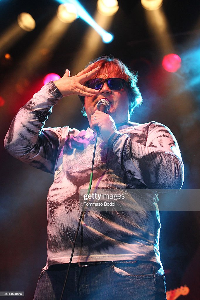 Musician/Actor Jack Black performs on stage during the Medlock Krieger Celebrity Golf Invitational 2015 - All Star Concert held at Moorpark Country Club on October 5, 2015 in Moorpark, California.