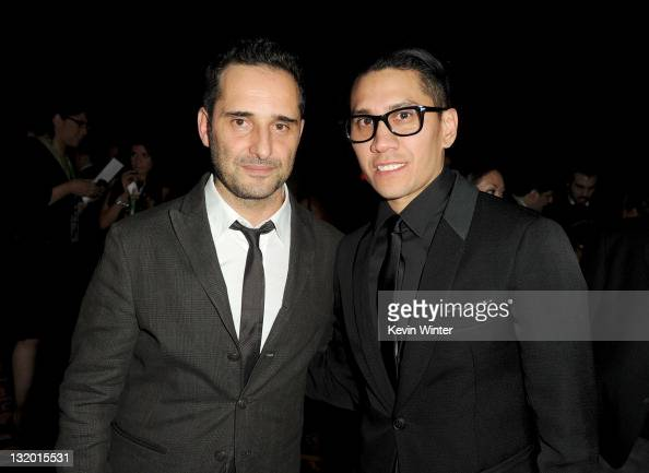 Musician/actor Jorge Drexler and singer Taboo of the Black Eyed Peas attend the 2011 Latin Recording Academy Person Of The Year Honoring Shakira...