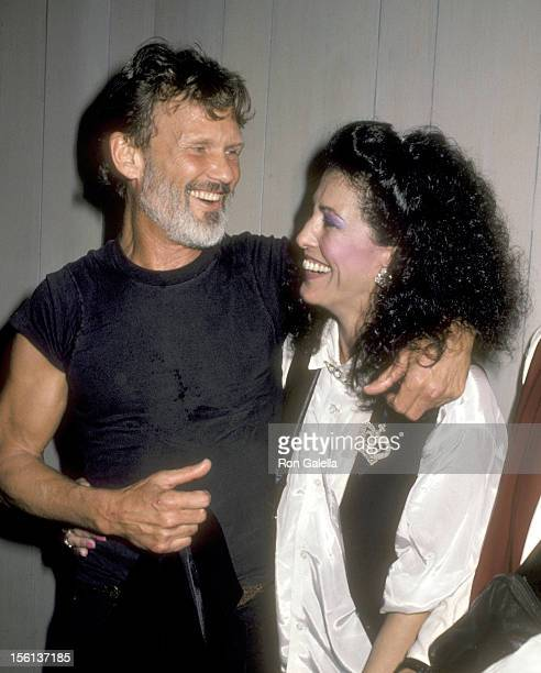 Musician/Actor Kris Kristofferson and Singer Rita Coolidge attend the 'Welcome Home Vets' Concert Honoring the Marican Vietnam Veterans on February...