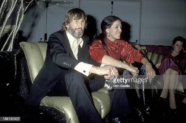 Musician/Actor Kris Kristofferson and Singer Rita Coolidge on January 9 1979 partying at Studio 54 in New York City New York