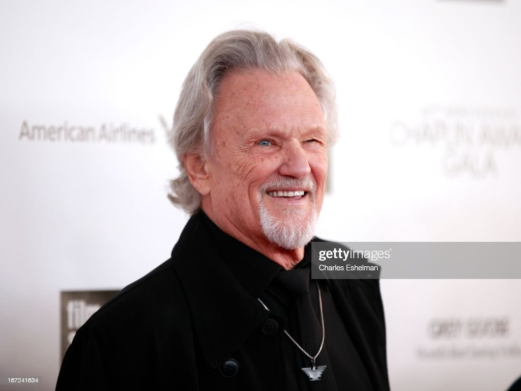 Musician/actor <a gi-track='captionPersonalityLinkClicked' href=/galleries/search?phrase=Kris+Kristofferson&family=editorial&specificpeople=206202 ng-click='$event.stopPropagation()'>Kris Kristofferson</a> attends the 40th Anniversary Chaplin Award Gala at Avery Fisher Hall at Lincoln Center for the Performing Arts on April 22, 2013 in New York City.