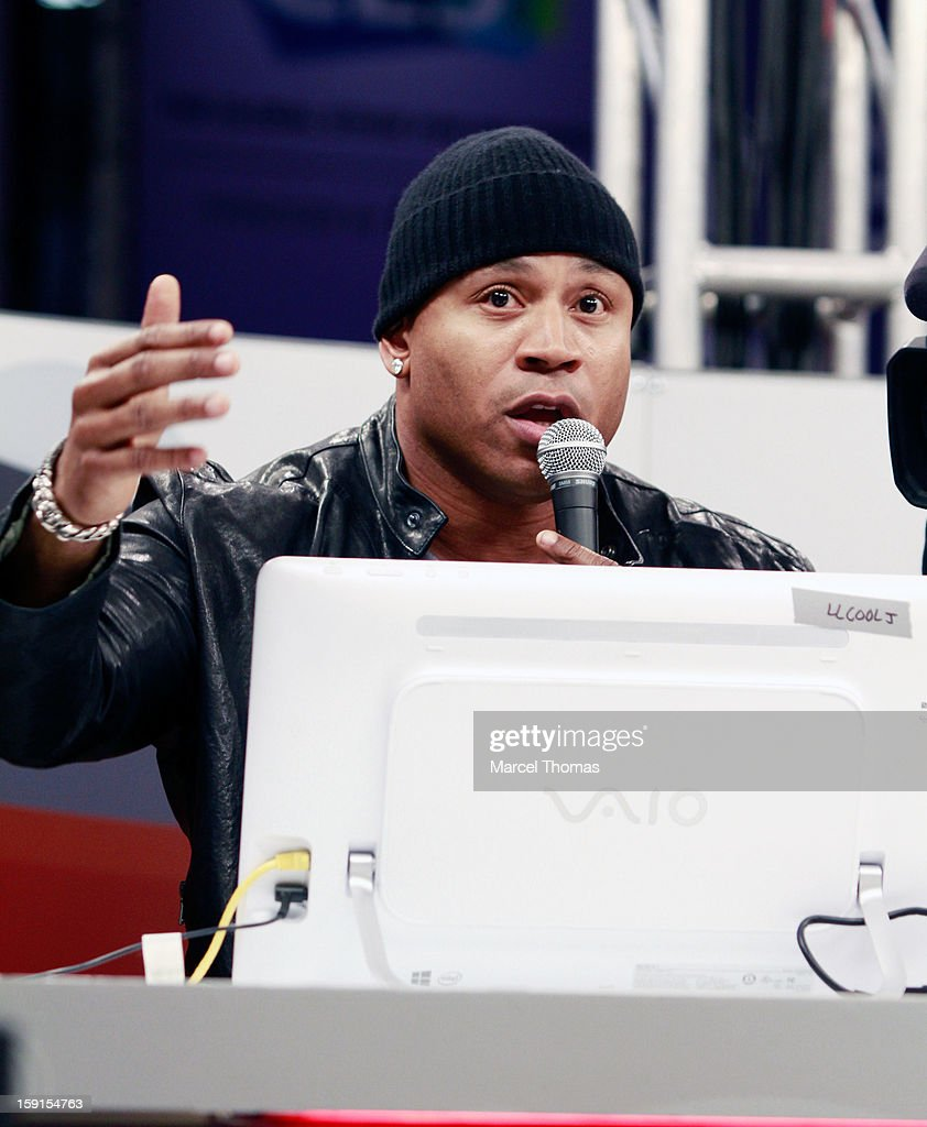 Musician/actor LL Cool J appears on the CNET stage at the 2013 International CES held at the Las Vegas Convention Center on January 8, 2013 in Las Vegas, Nevada.