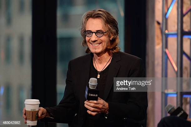 Musician/actor Rick Springfield attends the AOL BUILD Speaker Series Presents 'Ricki And The Flash' at AOL Studios In New York on August 5 2015 in...