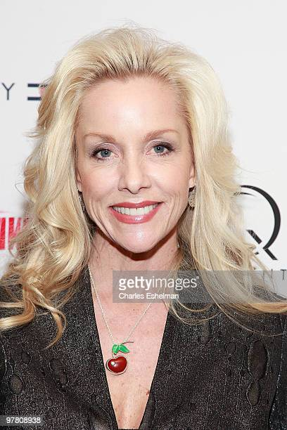 Musician/artist Cherie Currie attends 'The Runaways' New York premiere at Landmark Sunshine Cinema on March 17 2010 in New York City
