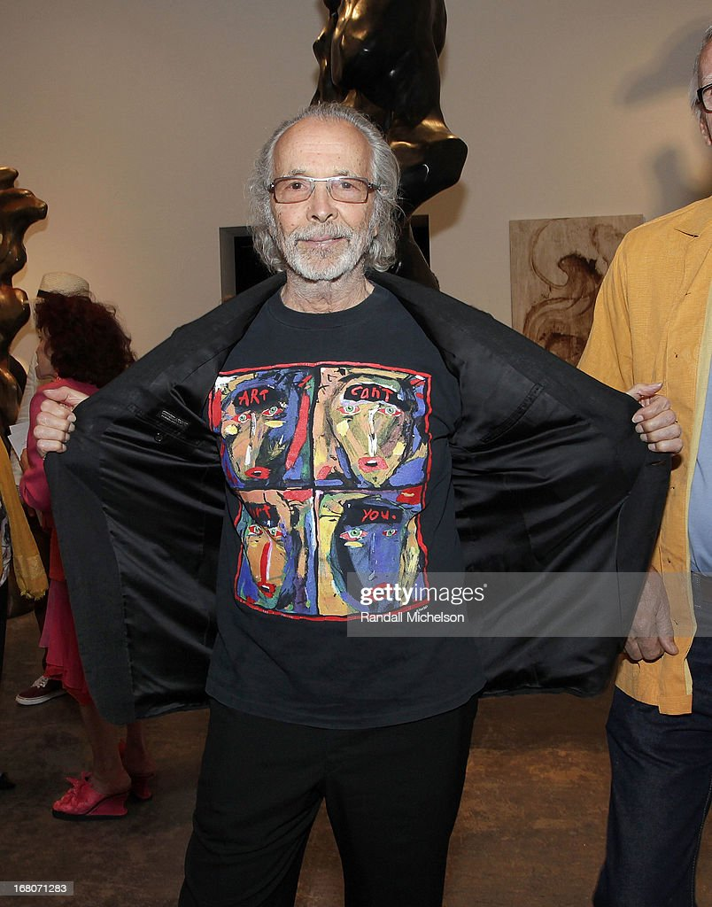 Musician-Artist <a gi-track='captionPersonalityLinkClicked' href=/galleries/search?phrase=Herb+Alpert&family=editorial&specificpeople=700404 ng-click='$event.stopPropagation()'>Herb Alpert</a> at the <a gi-track='captionPersonalityLinkClicked' href=/galleries/search?phrase=Herb+Alpert&family=editorial&specificpeople=700404 ng-click='$event.stopPropagation()'>Herb Alpert</a> Exhibition of Paintings and Sculpture at Bergamot Station on May 4, 2013 in Santa Monica, California.