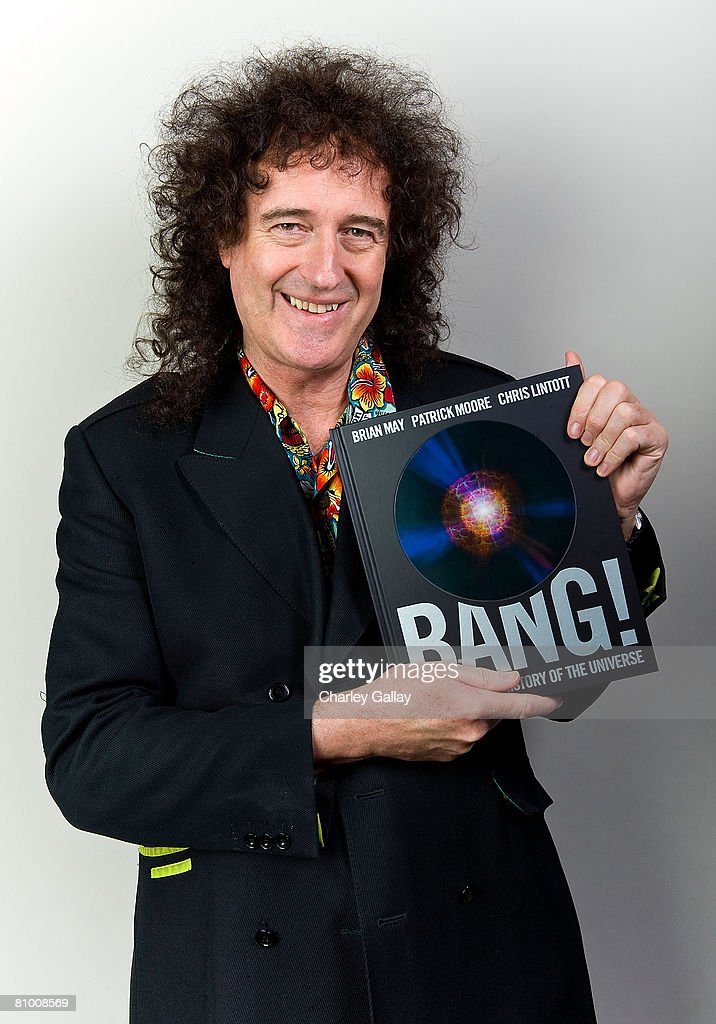 Brian May Portrait Session And Book Signing At Book Soup