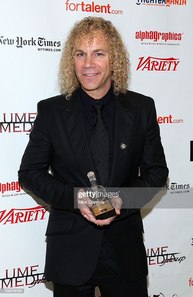 Musician/composer David Bryan receives and award at the 55th Annual Drama Desk Awards at the FH LaGuardia Concert Hall at Lincoln Center on May 23, 2010 in New York City.