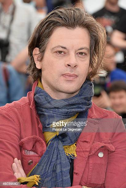 Musician/director Benjamin Biolay attends the 'ADAMI' Photocall at the 67th Annual Cannes Film Festival on May 20 2014 in Cannes France