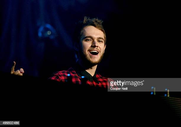 Musician/DJ Zedd performs onstage during 1061 KISS FM's Jingle Ball 2015 presented by Capital One at American Airlines Center on December 1 2015 in...