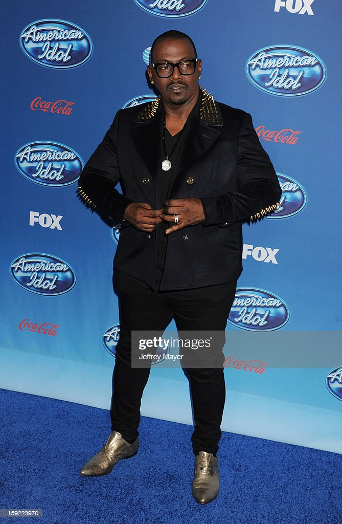 Musician/judge Randy Jackson attends the FOX's 'American Idol' Season 12 Premiere at Royce Hall on the UCLA Campus on January 9, 2013 in Westwood, California.
