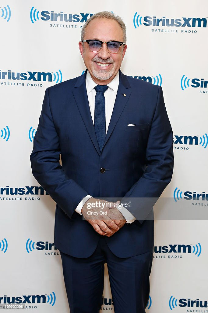 Musician/producer Emilio Estefan visits the SiriusXM Studios on May 28, 2013 in New York City.