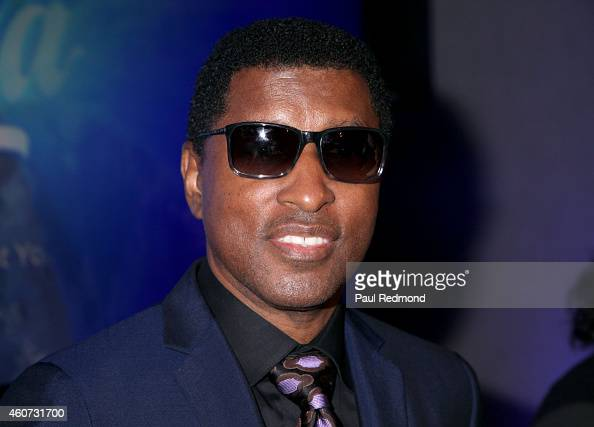 Musician/producer Kenneth 'Babyface' Edmonds attends the ISINA collaboration announcement at Capitol Recording Studios Holiday Party at Capitol...